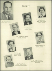 Page 14, 1956 Edition, Granite Falls High School - Boulder Yearbook (Granite Falls, NC) online yearbook collection