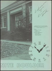 Page 7, 1957 Edition, Granite Falls High School - Boulder Yearbook (Granite Falls, NC) online yearbook collection