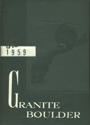 Page 1, 1959 Edition, Granite Falls High School - Boulder Yearbook (Granite Falls, NC) online yearbook collection