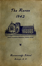 1942 Edition, Ravenscroft School - Raven Yearbook (Raleigh, NC)