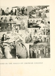 Page 11, 1950 Edition, Chowan College - Chowanoka Yearbook (Murfreesboro, NC) online yearbook collection