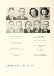 Page 14, 1950 Edition, Chowan College - Chowanoka Yearbook (Murfreesboro, NC) online yearbook collection