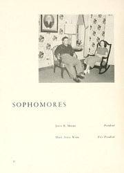 Page 16, 1950 Edition, Chowan College - Chowanoka Yearbook (Murfreesboro, NC) online yearbook collection