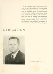 Page 7, 1950 Edition, Chowan College - Chowanoka Yearbook (Murfreesboro, NC) online yearbook collection