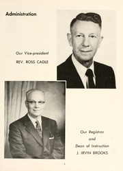 Page 11, 1957 Edition, Chowan College - Chowanoka Yearbook (Murfreesboro, NC) online yearbook collection