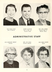 Page 12, 1957 Edition, Chowan College - Chowanoka Yearbook (Murfreesboro, NC) online yearbook collection