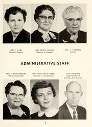 Page 13, 1957 Edition, Chowan College - Chowanoka Yearbook (Murfreesboro, NC) online yearbook collection