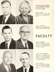 Page 16, 1957 Edition, Chowan College - Chowanoka Yearbook (Murfreesboro, NC) online yearbook collection