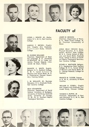Page 16, 1959 Edition, Chowan College - Chowanoka Yearbook (Murfreesboro, NC) online yearbook collection