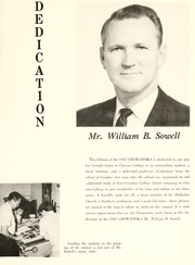 Page 15, 1967 Edition, Chowan College - Chowanoka Yearbook (Murfreesboro, NC) online yearbook collection