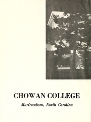Page 4, 1967 Edition, Chowan College - Chowanoka Yearbook (Murfreesboro, NC) online yearbook collection