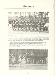 Page 136, 1981 Edition, Chowan College - Chowanoka Yearbook (Murfreesboro, NC) online yearbook collection