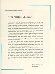 Page 11, 1984 Edition, Chowan College - Chowanoka Yearbook (Murfreesboro, NC) online yearbook collection