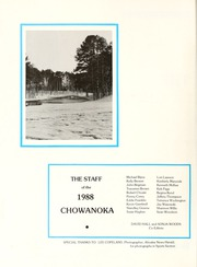 Page 6, 1988 Edition, Chowan College - Chowanoka Yearbook (Murfreesboro, NC) online yearbook collection