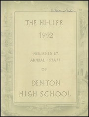 Page 3, 1942 Edition, Denton High School - Phoenix Yearbook (Denton, NC) online yearbook collection