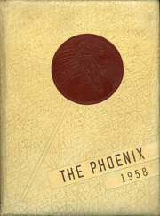 1958 Edition, Denton High School - Phoenix Yearbook (Denton, NC)