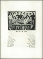 Page 10, 1951 Edition, Allen Jay High School - Aln Ja Hi Yearbook (High Point, NC) online yearbook collection