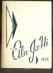 1959 Edition, Allen Jay High School - Aln Ja Hi Yearbook (High Point, NC)