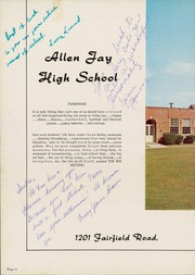 Page 8, 1959 Edition, Allen Jay High School - Aln Ja Hi Yearbook (High Point, NC) online yearbook collection