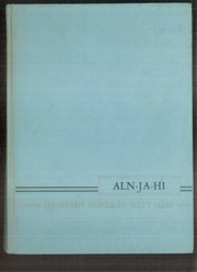 1969 Edition, Allen Jay High School - Aln Ja Hi Yearbook (High Point, NC)