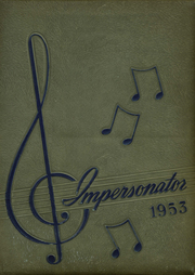 Page 1, 1953 Edition, Francis Garrou High School - Impersonator Yearbook (Valdese, NC) online yearbook collection
