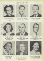 Page 11, 1953 Edition, Francis Garrou High School - Impersonator Yearbook (Valdese, NC) online yearbook collection