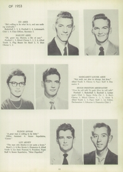 Page 15, 1953 Edition, Francis Garrou High School - Impersonator Yearbook (Valdese, NC) online yearbook collection