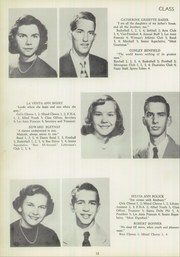 Page 16, 1953 Edition, Francis Garrou High School - Impersonator Yearbook (Valdese, NC) online yearbook collection