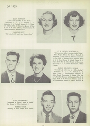 Page 17, 1953 Edition, Francis Garrou High School - Impersonator Yearbook (Valdese, NC) online yearbook collection