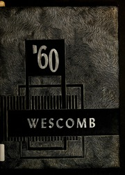 Page 1, 1960 Edition, West Edgecombe High School - Wescomb Yearbook (Rocky Mount, NC) online yearbook collection