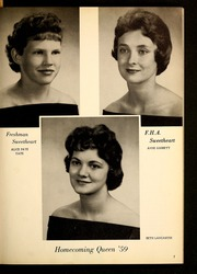 Page 13, 1960 Edition, West Edgecombe High School - Wescomb Yearbook (Rocky Mount, NC) online yearbook collection