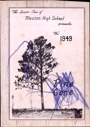 Page 7, 1949 Edition, Maxton High School - Pine Cone Yearbook (Maxton, NC) online yearbook collection