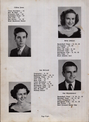 Page 12, 1950 Edition, Maxton High School - Pine Cone Yearbook (Maxton, NC) online yearbook collection