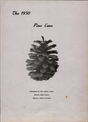 Page 5, 1950 Edition, Maxton High School - Pine Cone Yearbook (Maxton, NC) online yearbook collection