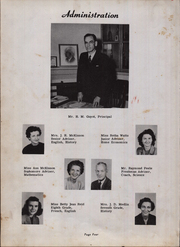 Page 8, 1950 Edition, Maxton High School - Pine Cone Yearbook (Maxton, NC) online yearbook collection