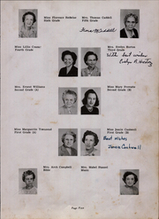 Page 9, 1950 Edition, Maxton High School - Pine Cone Yearbook (Maxton, NC) online yearbook collection
