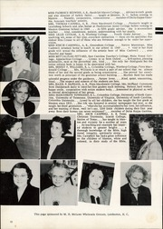 Page 14, 1952 Edition, Maxton High School - Pine Cone Yearbook (Maxton, NC) online yearbook collection