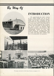 Page 8, 1952 Edition, Maxton High School - Pine Cone Yearbook (Maxton, NC) online yearbook collection