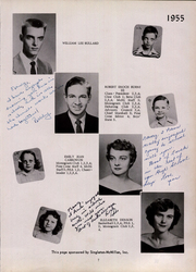 Page 11, 1955 Edition, Maxton High School - Pine Cone Yearbook (Maxton, NC) online yearbook collection