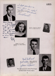 Page 17, 1955 Edition, Maxton High School - Pine Cone Yearbook (Maxton, NC) online yearbook collection