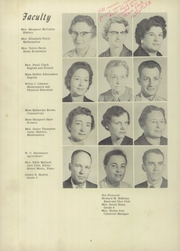 Page 10, 1959 Edition, Burgaw High School - Wagrub Yearbook (Burgaw, NC) online yearbook collection