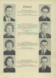 Page 17, 1959 Edition, Burgaw High School - Wagrub Yearbook (Burgaw, NC) online yearbook collection