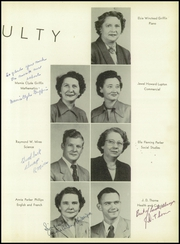 Page 9, 1953 Edition, South Edgecombe High School - Maccripine Yearbook (Pinetops, NC) online yearbook collection