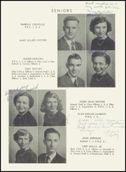 Page 11, 1953 Edition, Lillington High School - Footprints Yearbook (Lillington, NC) online yearbook collection