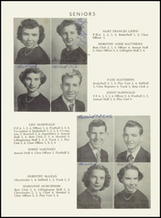 Page 12, 1953 Edition, Lillington High School - Footprints Yearbook (Lillington, NC) online yearbook collection