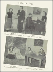 Page 15, 1953 Edition, Lillington High School - Footprints Yearbook (Lillington, NC) online yearbook collection