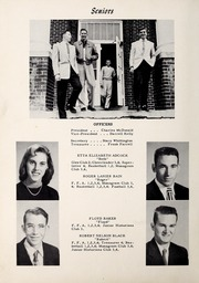 Page 10, 1955 Edition, Lillington High School - Footprints Yearbook (Lillington, NC) online yearbook collection