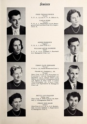 Page 11, 1955 Edition, Lillington High School - Footprints Yearbook (Lillington, NC) online yearbook collection
