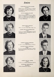 Page 12, 1955 Edition, Lillington High School - Footprints Yearbook (Lillington, NC) online yearbook collection