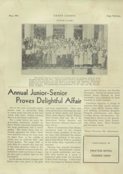 Page 15, 1936 Edition, Greenville High School - Tau Yearbook (Greenville, NC) online yearbook collection